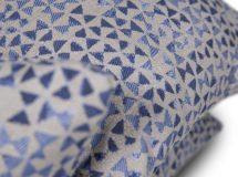 pagalvėlės BOW BLUE/lyros baldai