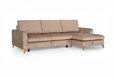 GLORY maža kampinė sofa-lova